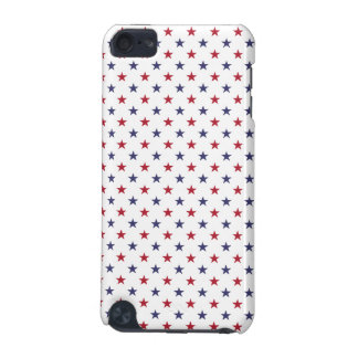 USA Flag Red and Flag Blue Stars iPod Touch 5G Covers
