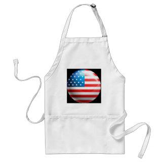 """""""USA flag"""" Standard Apron"""