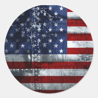 USA Flag Sticker