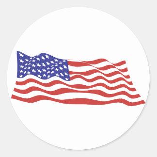 USA Flag Sticker Sheets