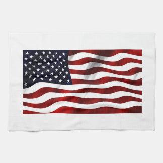 USA Flag Tea Towel