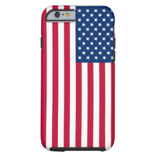 USA Flag Tough iPhone 6 Case