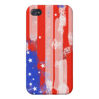USA flag ~ united states Cases For iPhone 4
