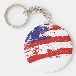 USA flag US/America Keychain