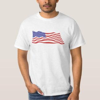 USA Flag Value T-Shirt