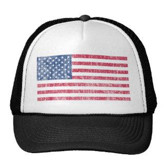 USA Flag Vintage Mesh Hats