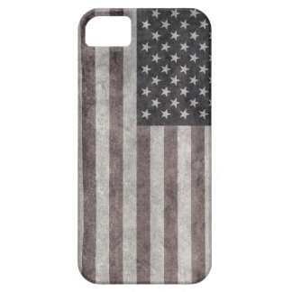 USA Flag, Vintage Retro American Flag On Canvas Case For The iPhone 5