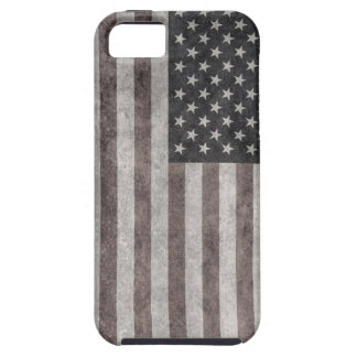 USA Flag, Vintage Retro American Flag On Canvas iPhone 5 Cases