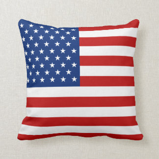 USA Flag x Flag Pillow