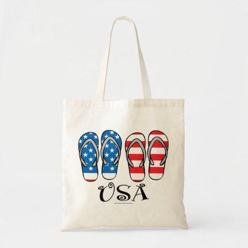 USA Flip Flops Bag