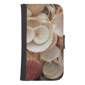 USA, Florida. Close Up Of Shells On Santa Rosa Samsung S4 Wallet Case