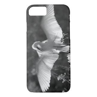 USA, Florida, Great Egret (Ardea alba) infrared 2 iPhone 8/7 Case