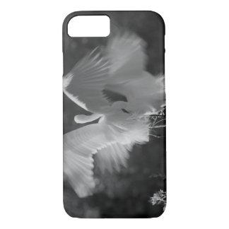 USA, Florida, Great Egret (Ardea alba) infrared 3 iPhone 8/7 Case