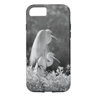 USA, Florida, Great Egret (Ardea alba) infrared iPhone 8/7 Case