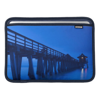 USA, Florida, Gulf Coast, Naples, Naples Pier MacBook Sleeve