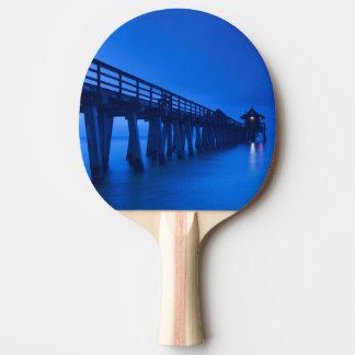 USA, Florida, Gulf Coast, Naples, Naples Pier Ping Pong Paddle