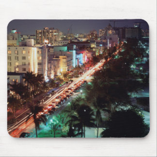 USA, Florida, Miami Beach, Ocean Drive, Art Deco 2 Mouse Mat