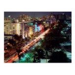 USA, Florida, Miami Beach, Ocean Drive, Art Deco 2 Postcard