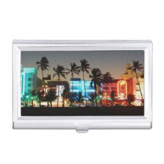 USA, Florida, Miami Beach, Ocean Drive, Art Deco Business Card Holder