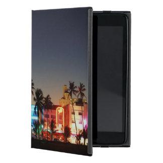 USA, Florida, Miami Beach, Ocean Drive, Art Deco Cases For iPad Mini