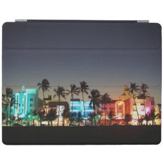 USA, Florida, Miami Beach, Ocean Drive, Art Deco iPad Cover