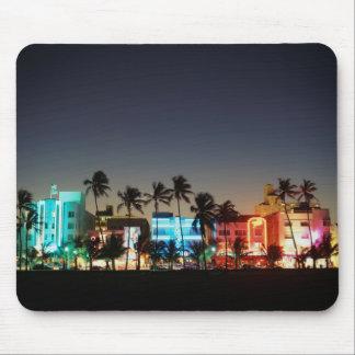 USA, Florida, Miami Beach, Ocean Drive, Art Deco Mouse Pad