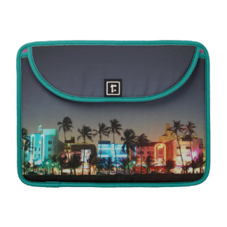 USA, Florida, Miami Beach, Ocean Drive, Art Deco Sleeve For MacBooks