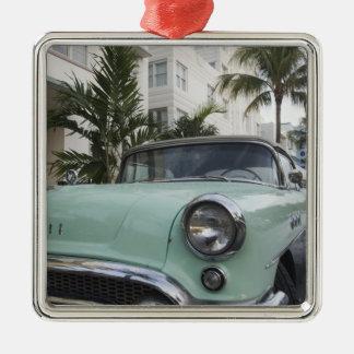 USA, Florida, Miami Beach: South Beach, 1956 3 Christmas Ornament