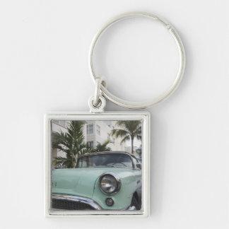 USA, Florida, Miami Beach: South Beach, 1956 3 Key Ring