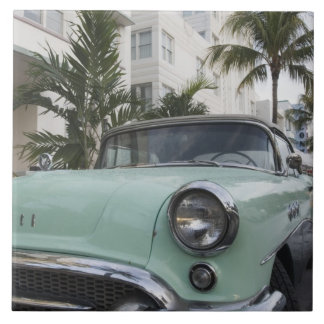 USA, Florida, Miami Beach: South Beach, 1956 3 Large Square Tile
