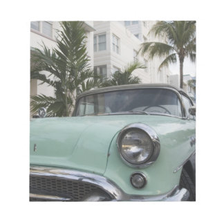 USA, Florida, Miami Beach: South Beach, 1956 3 Notepad