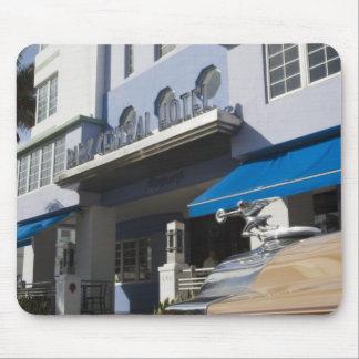 USA, Florida, Miami Beach: South Beach, Art Deco Mouse Mat