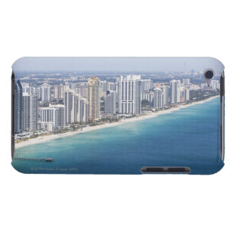 USA, Florida, Miami, Cityscape with beach 2 Barely There iPod Cases