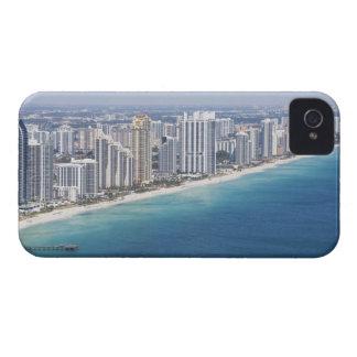 USA, Florida, Miami, Cityscape with beach 2 iPhone 4 Case