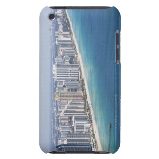 USA, Florida, Miami, Cityscape with beach 2 iPod Touch Cases