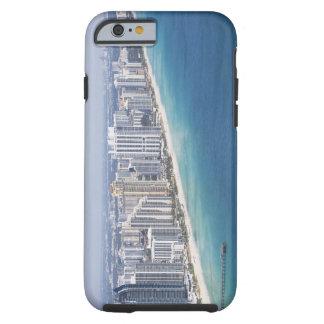 USA, Florida, Miami, Cityscape with beach 2 Tough iPhone 6 Case