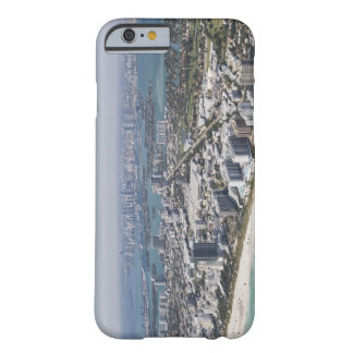 USA, Florida, Miami, Cityscape with beach 3 Barely There iPhone 6 Case