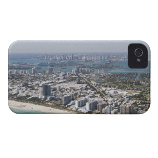 USA, Florida, Miami, Cityscape with beach 3 iPhone 4 Covers