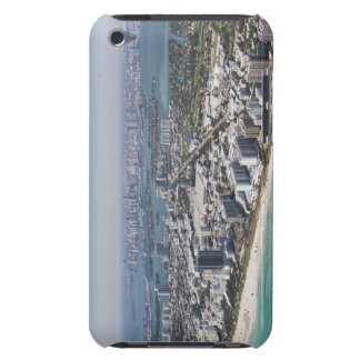 USA, Florida, Miami, Cityscape with beach 3 iPod Touch Cover