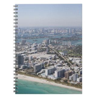 USA, Florida, Miami, Cityscape with beach 3 Notebook
