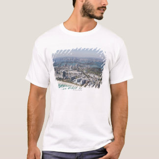 USA, Florida, Miami, Cityscape with beach 3 T-Shirt