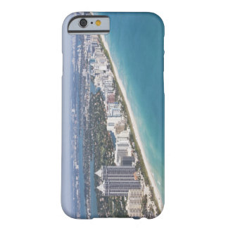 USA, Florida, Miami, Cityscape with beach Barely There iPhone 6 Case