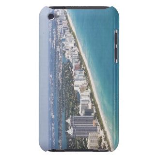 USA, Florida, Miami, Cityscape with beach Barely There iPod Covers