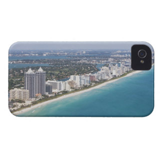 USA, Florida, Miami, Cityscape with beach Case-Mate iPhone 4 Case