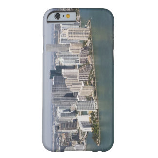 USA, Florida, Miami, Cityscape with coastline 2 Barely There iPhone 6 Case