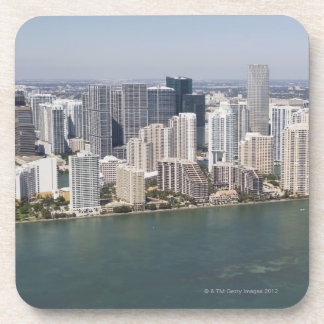 USA, Florida, Miami, Cityscape with coastline 2 Coaster