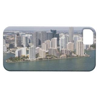 USA, Florida, Miami, Cityscape with coastline 2 iPhone 5 Covers