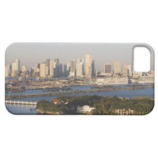 USA, Florida, Miami, Cityscape with coastline iPhone 5 Cover