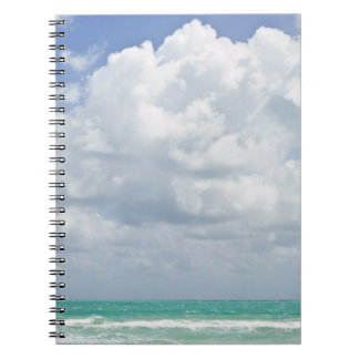 USA, Florida, Miami, Landscape with sea Notebook