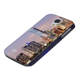 USA, Florida, Miami skyline at dusk 2 Galaxy S4 Case